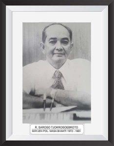 R. SAROSO TJOKROSOEBROTO